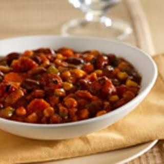 Slow Cooker Veggie Chili.