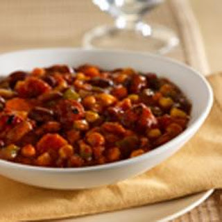 Slow Cooker Veggie Chili.