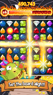 Booty Quest – Match 3 Jewels! - screenshot thumbnail