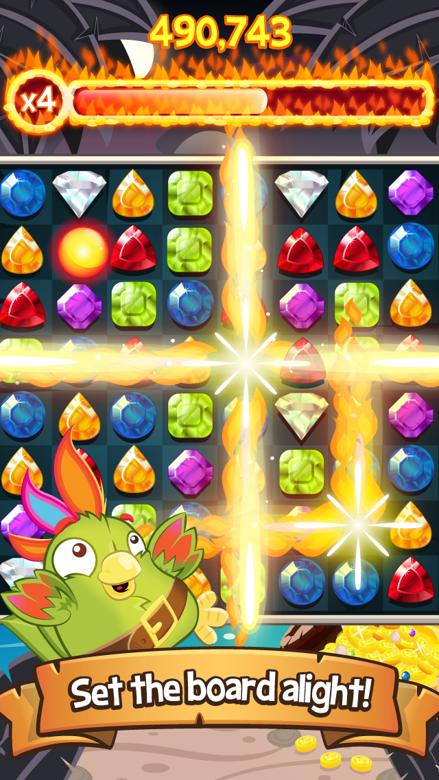 Booty Quest – Match 3 Jewels! screenshot #3