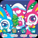 Skip Bunny Merry Xmas_SQTheme logo