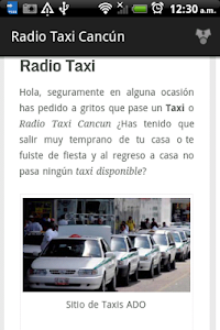 Radio Taxi Cancún screenshot 1