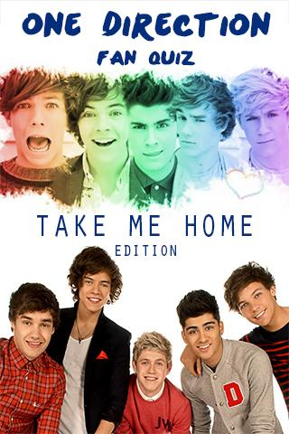 1D Fan Quiz - Take me home ed. - screenshot