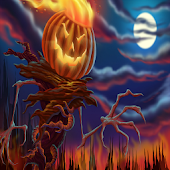 Halloween Pumpkin HD  GO THEME