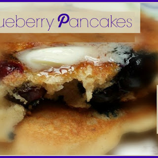 Better Blueberry Pancakes