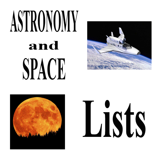 Science Lists - ASTRONOMY LOGO-APP點子