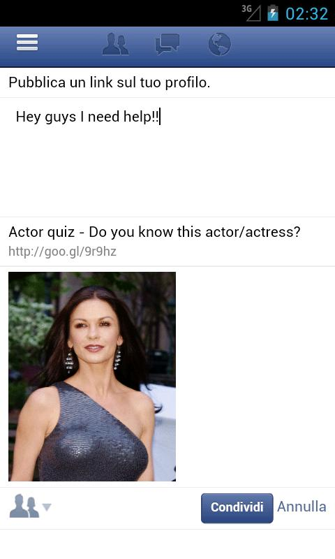 Actor Quiz - screenshot