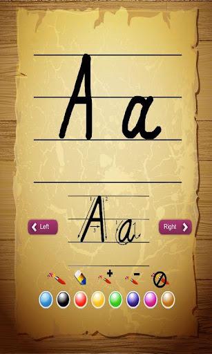 宝宝写字母