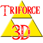 Zelda Triforce 3D