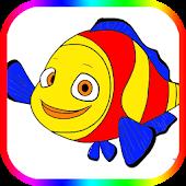 NeMo Fish Cute The Coloring