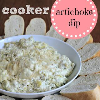 Slow Cooker Artichoke Dip.