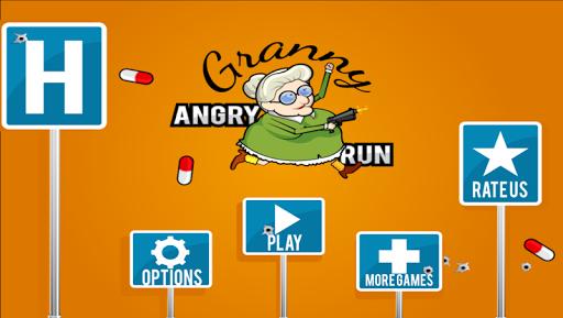 Angry Grandma Run Games:Crazy