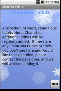 Chanukka Tidbits - screenshot thumbnail
