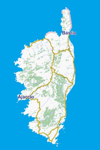GpsTicker3 Korsika