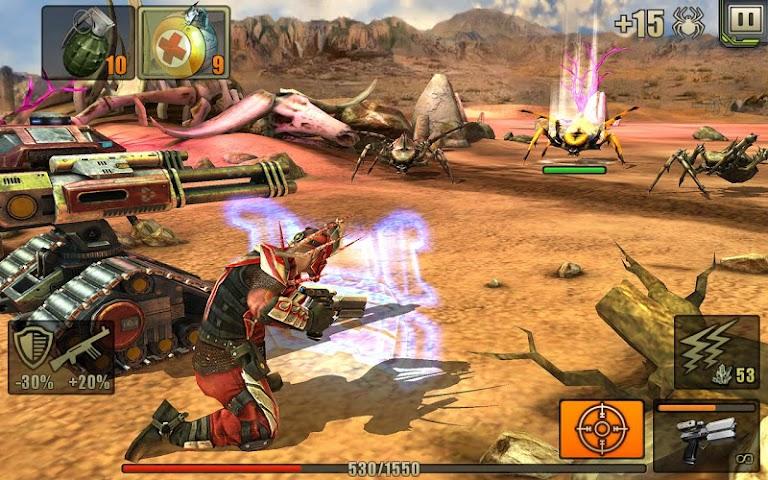 android Evolution: Battle for Utopia Screenshot 5