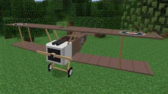 Mine Airplane Fly Craft
