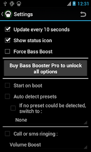 Bass Booster - screenshot thumbnail