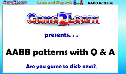 AABB Patterns with Q A