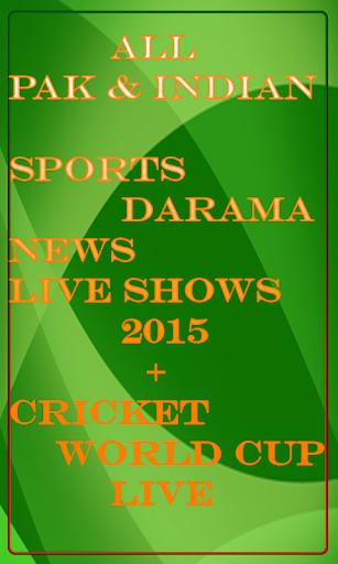 Pak india TV 2015 Ent.