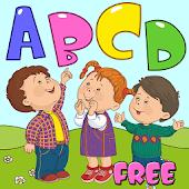 Children Lerning Alphabet Game