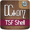 DCikonZ Wood TSF Theme icon