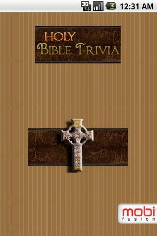 Holy Bible Trivia Lite- screenshot