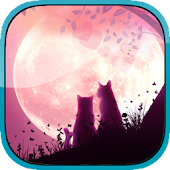 Lovers cats Live Wallpaper