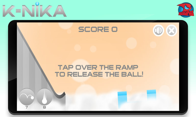 K-nika: Dunk the ball - screenshot