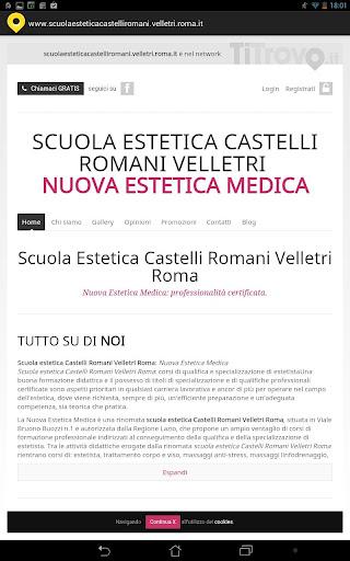 Scuola estetica Velletri Roma