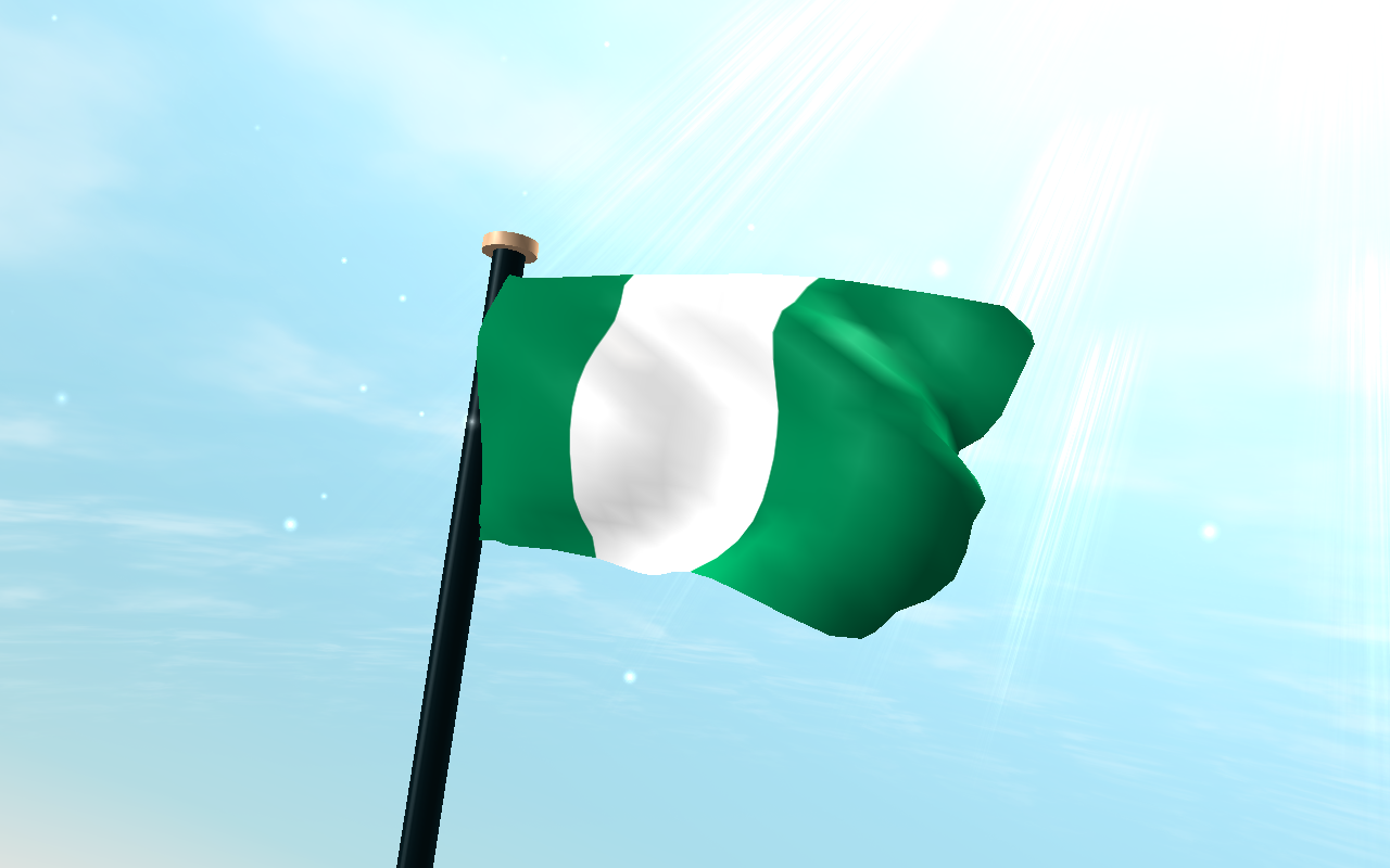 Nigeria flag 3d live wallpaper android apps on google play for 3d wallpaper for home in nigeria