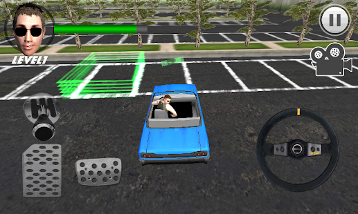 Crazy Parking Car King 3D - náhled