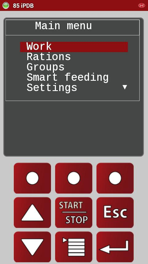 Lely Control- screenshot
