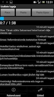 Uudiste lugeja- screenshot thumbnail