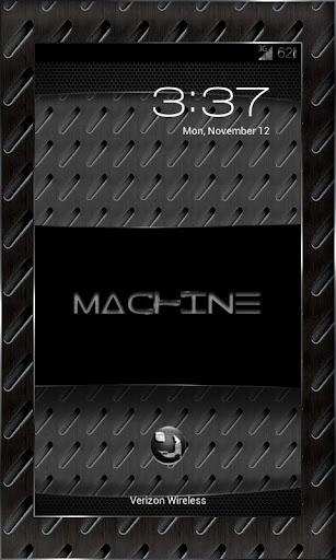 MACHINE BLACK THEME CHOOSER