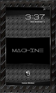 MACHINE BLACK THEME CHOOSER- screenshot thumbnail