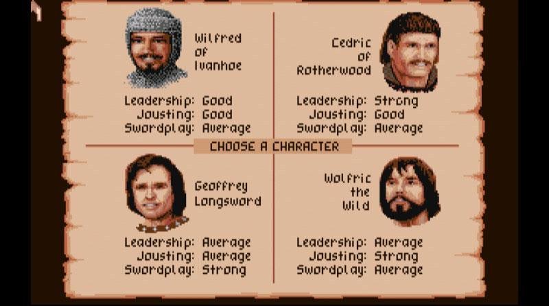 Defender of the Crown- screenshot