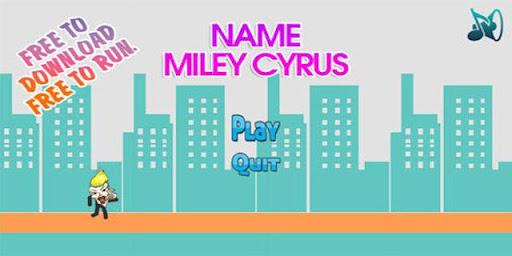 Miley Cyrus Run