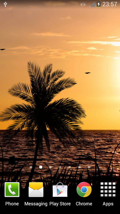 sunset windmill live wallpaper � androidapps auf google play