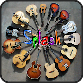 Guitar Icons Splash