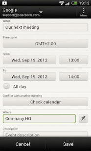 ICS 2 Calendar- screenshot thumbnail