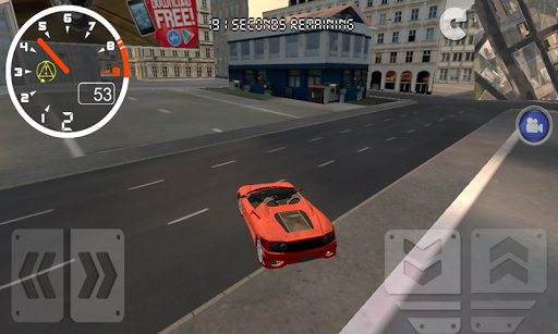 Convertible Driving Simulator