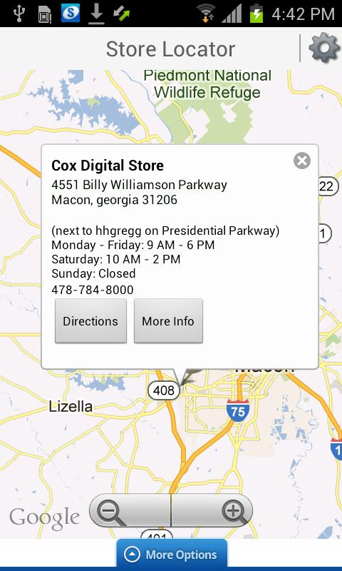 Cox Mobile Connect - screenshot