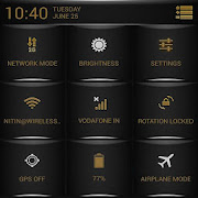 Brown Fire Theme CM11/AOSP