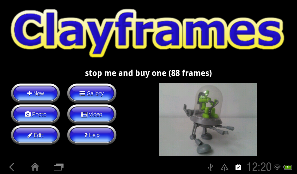 Clayframes - stop motion- screenshot