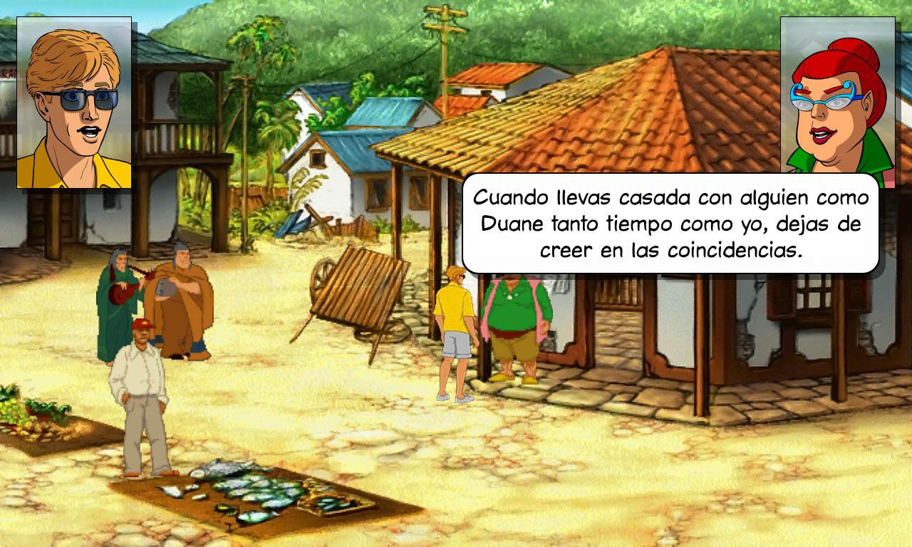 Broken Sword 2: Español - screenshot