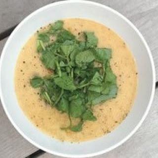 Puréed Carrot & Lentil Soup