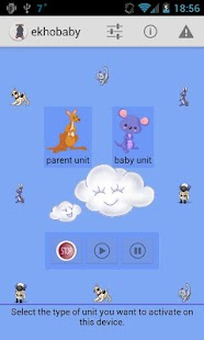 ekhobaby - baby monitor- screenshot thumbnail