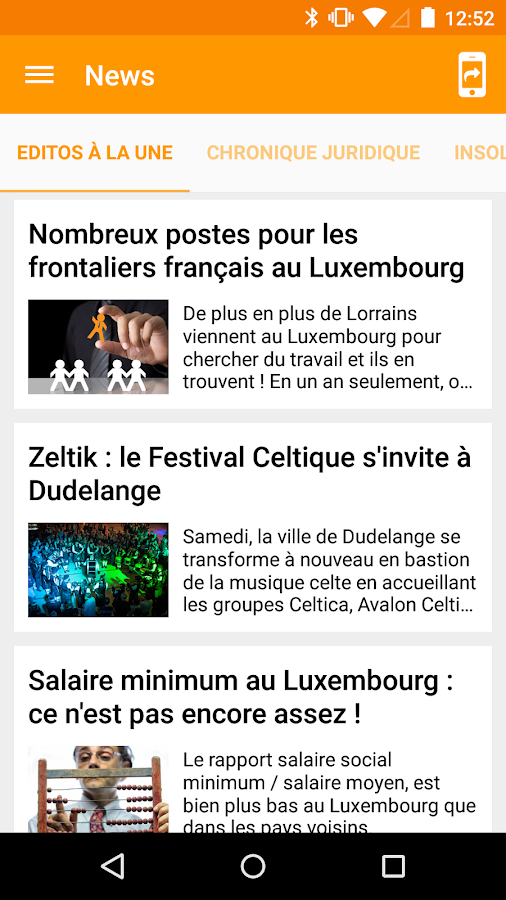 Les Frontaliers- screenshot