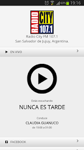 Radio City FM 107.1: miniatura de captura de pantalla