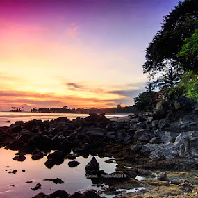 two color gradual by IDewa ZesmaerthaPrabawatma - Landscapes Sunsets & Sunrises